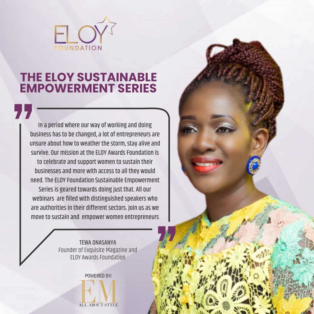 Register For The ELOY Sustainable Empowerment Webinar Series